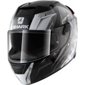 helmet shark speed r series2 fighta white silver black motocard. Black Bedroom Furniture Sets. Home Design Ideas
