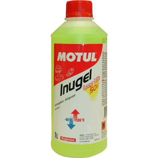 Aceite y Spray MOTUL INUGEL LONG LIFE 1L