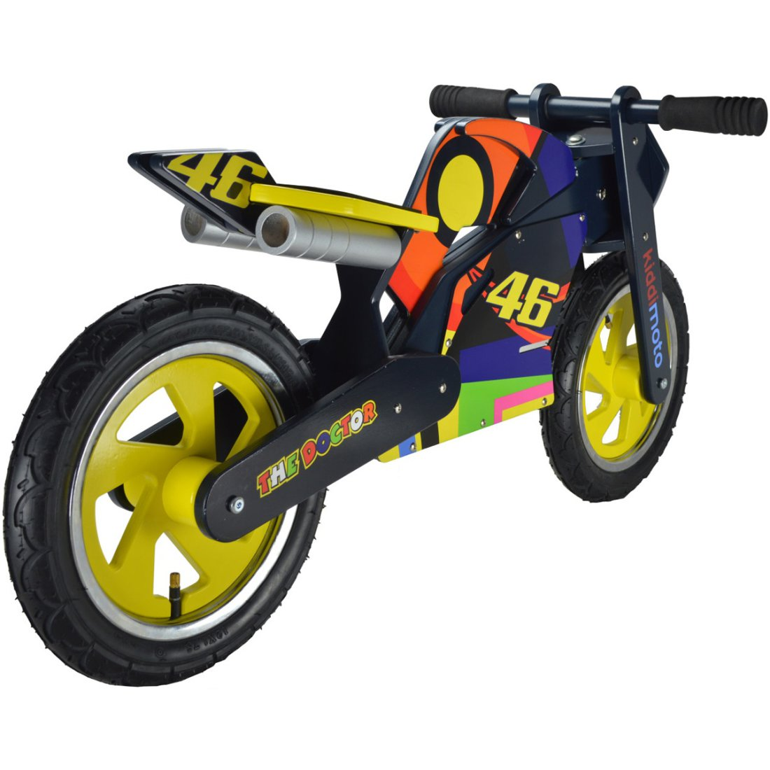 kiddi moto heroes valentino rossi balance bike motocard. Black Bedroom Furniture Sets. Home Design Ideas