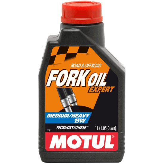 MOTUL FORK OIL EXPERT MEDIUM / HEAVY 15W 1L Oil and spray