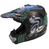 ARAI MX-V Barcia Green