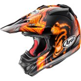 ARAI MX-V Barcia Orange