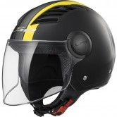 LS2 OF562 Airflow Metropolis Matt Black / H-V Yellow