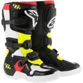 ALPINESTARS Tech 6S Junior Black / Red / Yellow Fluo