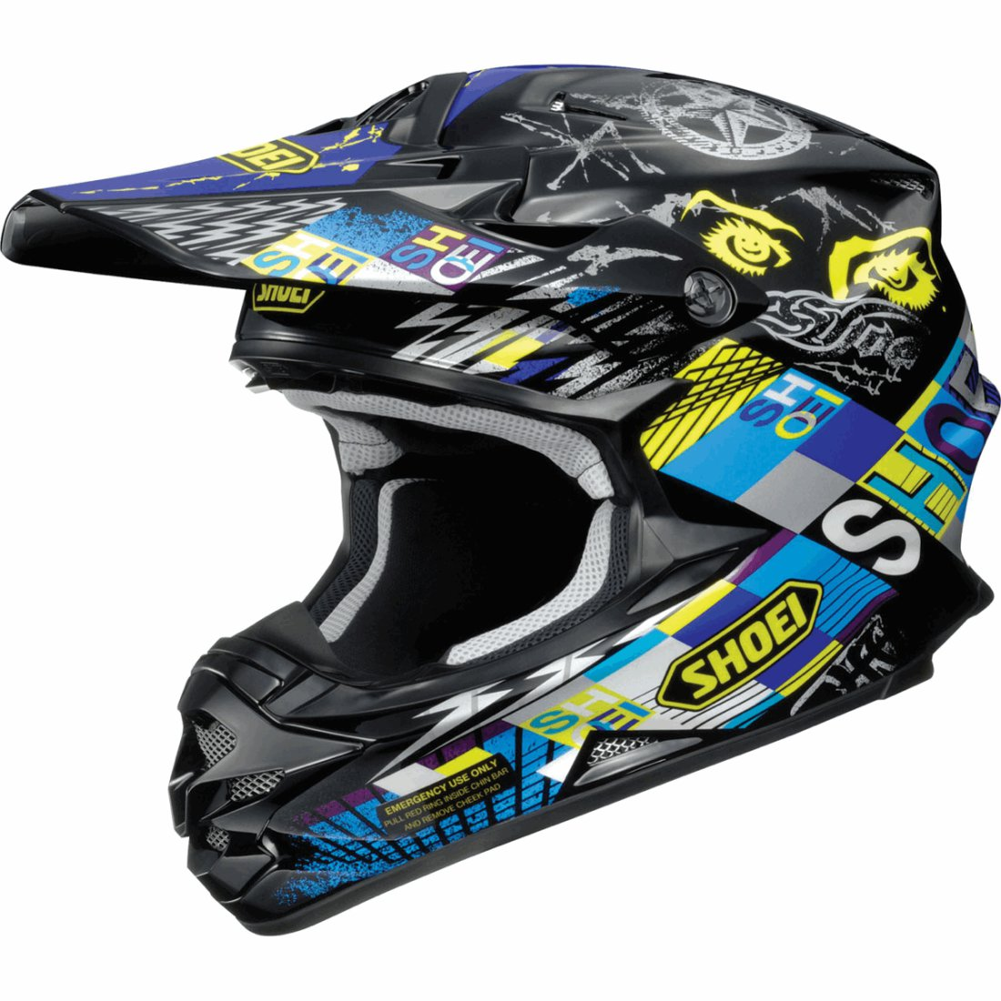 shoei vfx w krack tc 11 helmet motocard. Black Bedroom Furniture Sets. Home Design Ideas