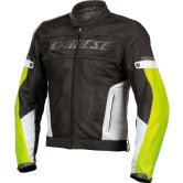 DAINESE Air-Frame Tex Black / High Rise / Yellow