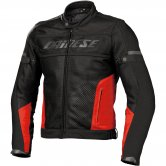 DAINESE Air-Frame Tex Black / Red