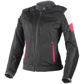 DAINESE Air-Frame Tex Lady Black / Vaporous-Gray / Fucsia