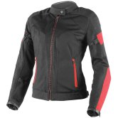 DAINESE Air-Frame Tex Lady Black / Red