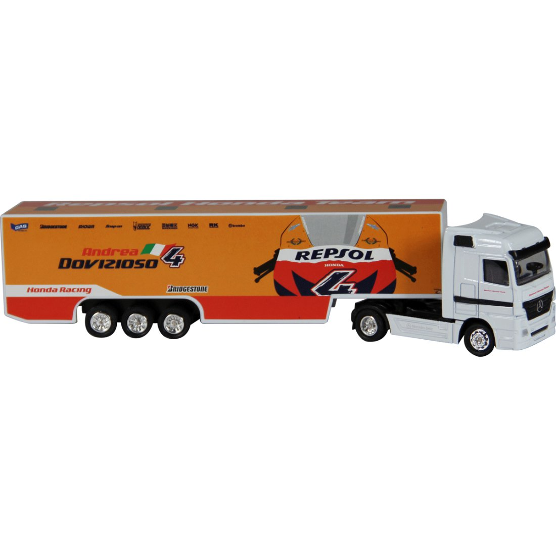 Team Ray Trucks >> New Ray Repsol Honda Racing Team Truck 1 87 Miniature Motorcycle