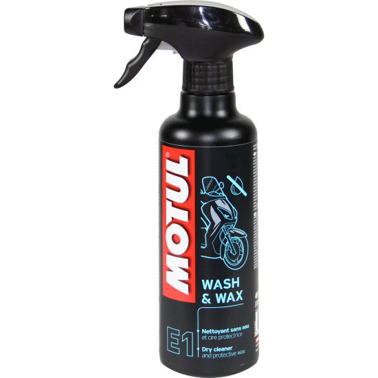 Olio e spay MOTUL WASH AND WAX