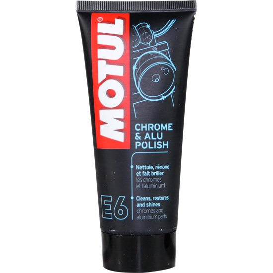Aceite y Spray MOTUL CHROME AND ALU POLISH