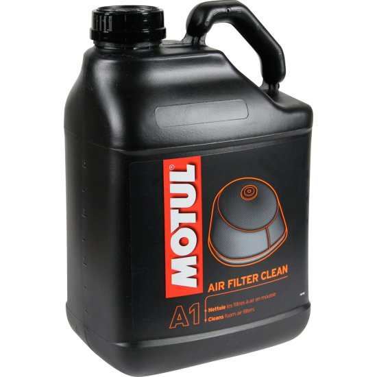 Aceite y Spray MOTUL AIR FILTER CLEAN 5L.