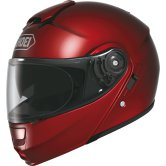 SHOEI Neotec Wine Red