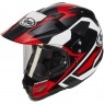 ARAI Tour-X 4 Catch Red Helmet