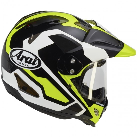 ARAI Tour-X 4 Catch Yellow Helmet