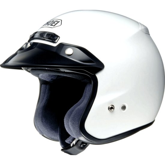 Casque SHOEI RJ Platinum-R White