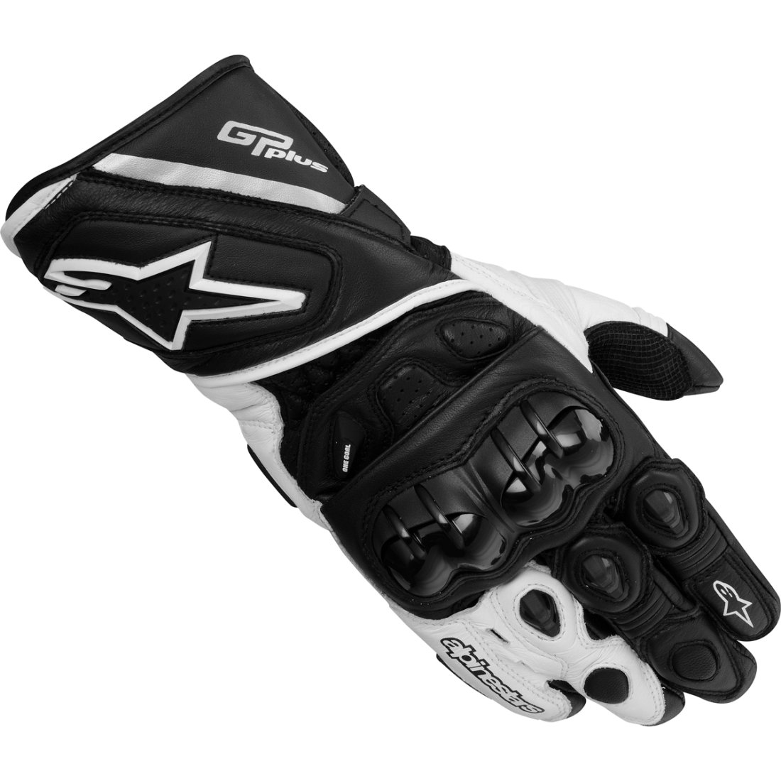 alpinestars gp plus black white gloves motocard. Black Bedroom Furniture Sets. Home Design Ideas