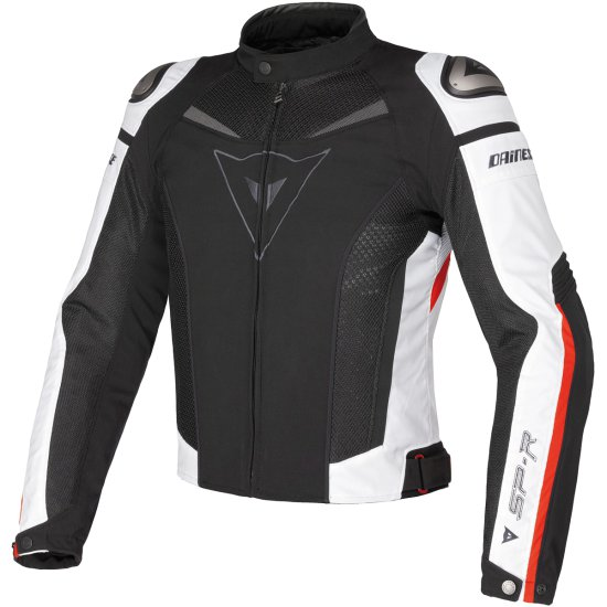 Jacke DAINESE Super Speed Tex Black / White / Red