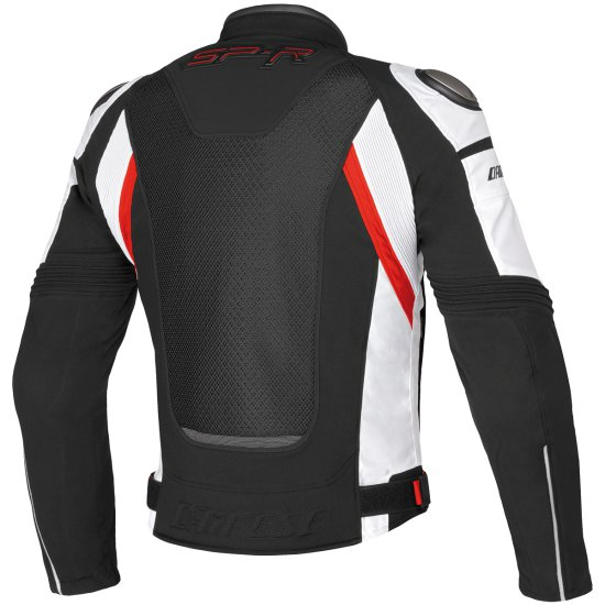 DAINESE Super Speed Tex Black / White / Red Jacket