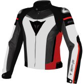 DAINESE Super Speed Tex White / Black / Red