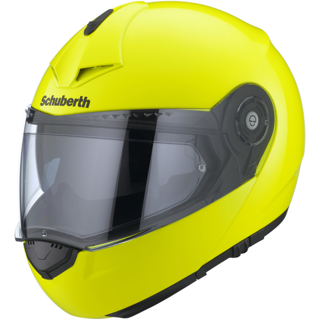 schuberth c3 pro yellow fluo helmet motocard. Black Bedroom Furniture Sets. Home Design Ideas