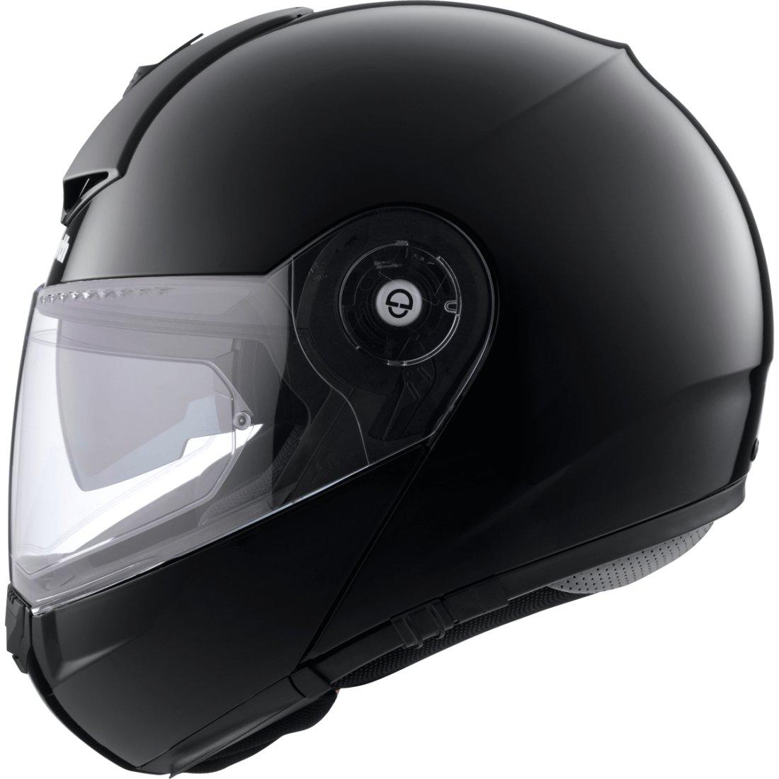 schuberth c3 pro glossy black helmet motocard. Black Bedroom Furniture Sets. Home Design Ideas