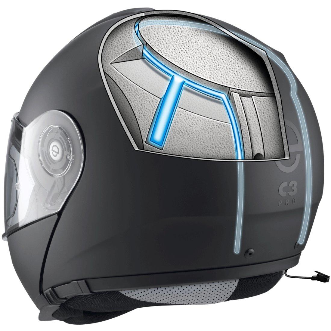 helm schuberth c3 pro matt black motocard. Black Bedroom Furniture Sets. Home Design Ideas
