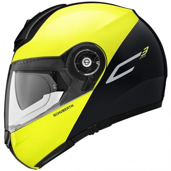 Helm SCHUBERTH C3 Pro Split Yellow