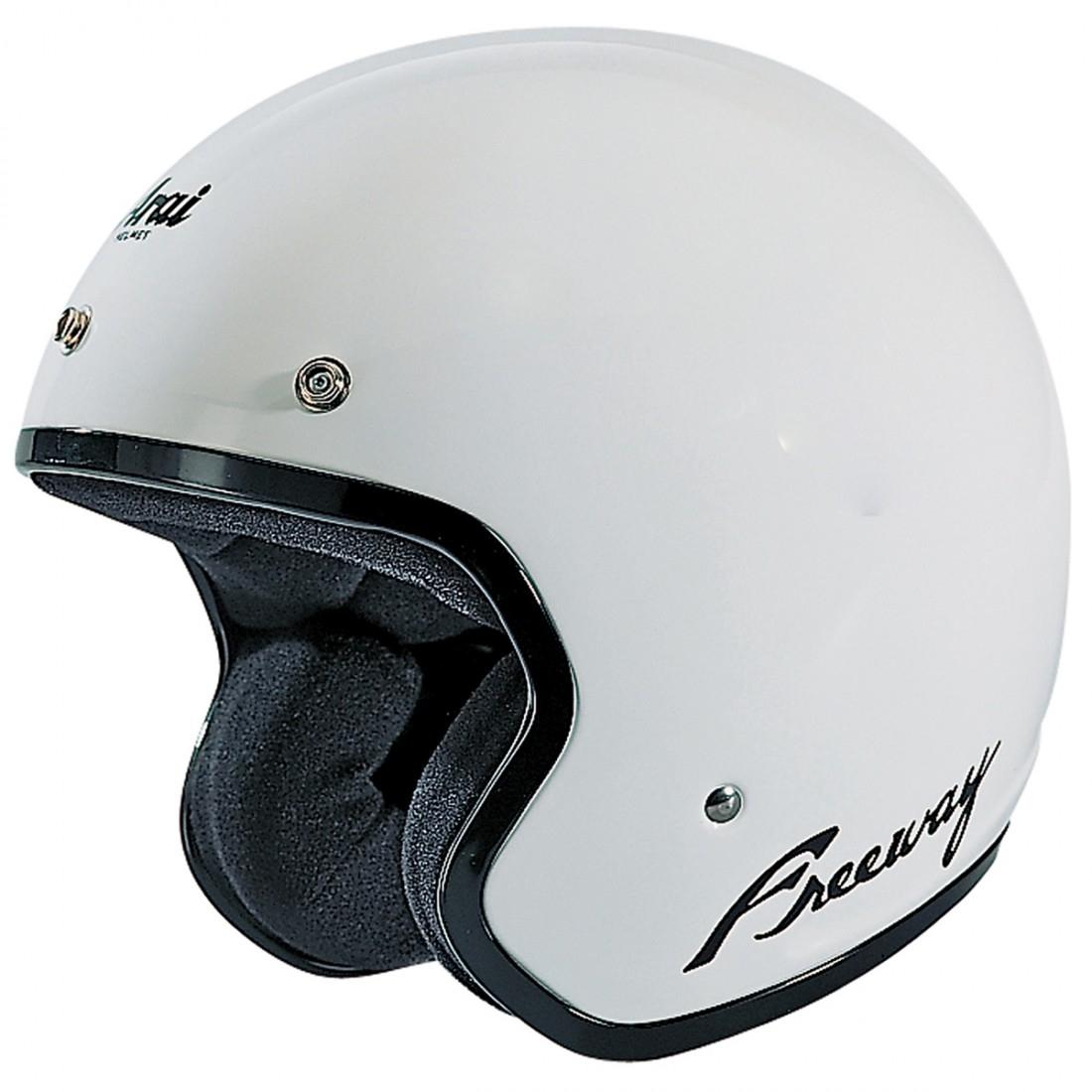 arai freeway 2 white helmet motocard. Black Bedroom Furniture Sets. Home Design Ideas