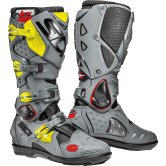 SIDI CROSSFIRE 2 SRS Black / Grey / Yellow Fluo