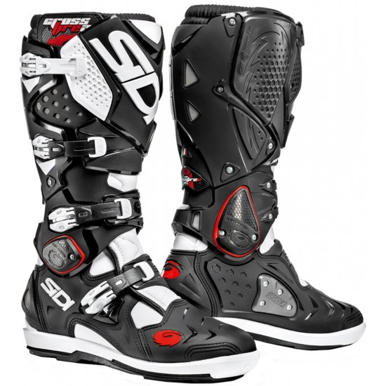 SIDI Crossfire 2 SRS Black / White Boots