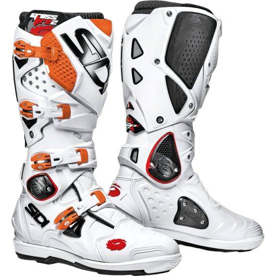 Botas SIDI CROSSFIRE 2 SRS White / Orange