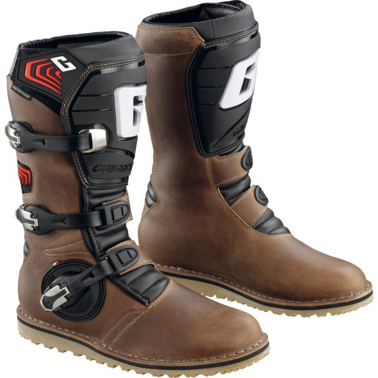 GAERNE Balance Oiled Brown Boots