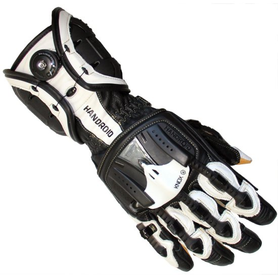 Guantes KNOX Handroid Black / White