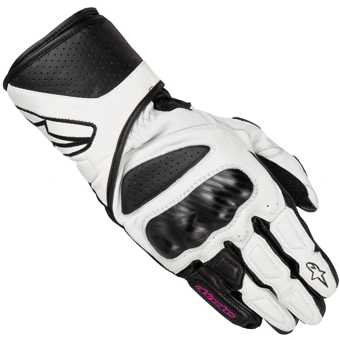 gants alpinestars stella sp 8 lady white motocard. Black Bedroom Furniture Sets. Home Design Ideas