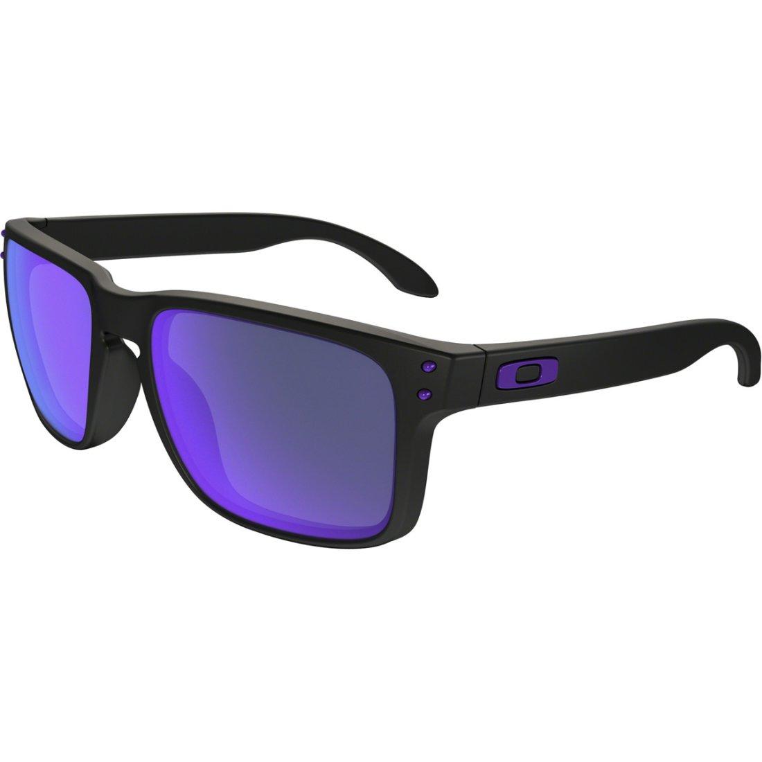 bf52adacc09 OAKLEY Holbrook Julian Wilson Signature Series Matte Black   Violet Iridium  Mask   Goggle · Motocard