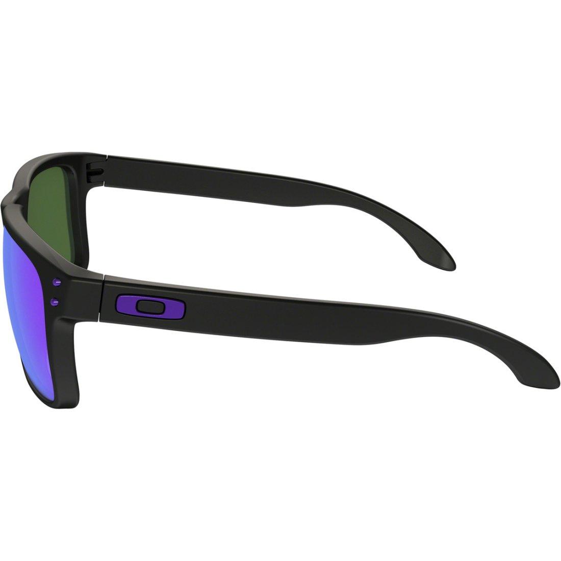 0546b16e6a OAKLEY Holbrook Julian Wilson Signature Series Matte Black   Violet Iridium  Sun glasses