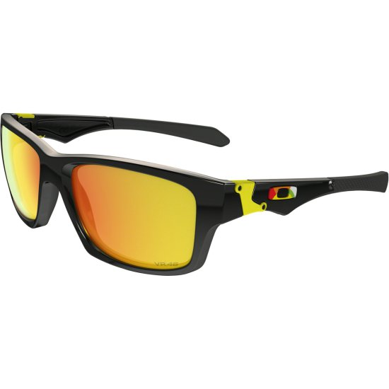 13d6e71d531ff OAKLEY Jupiter Squared Valentino Rossi Exclusive Collection Polished Black    Fire Iridium Mask   Goggle