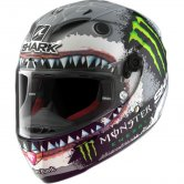 SHARK Race-R Pro Lorenzo White Shark Limited Edition