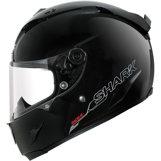 Casco SHARK Race-R Pro Blank Black