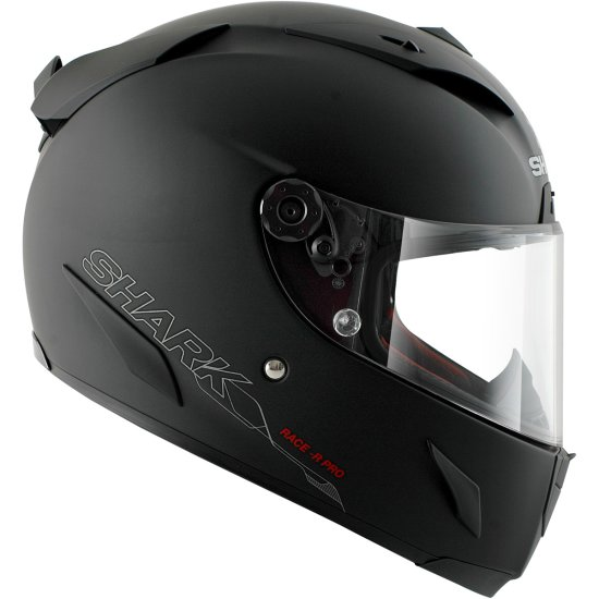Casco SHARK Race-R Pro Blank Mat Black