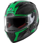 SHARK Race-R Pro Cintas Black / Green / Anthracite