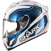 SHARK Race-R Pro Guintoli White / Blue / Black