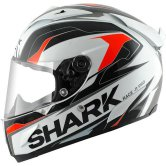 SHARK Race-R Pro Kimbo White / Black / Orange