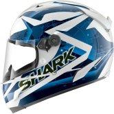 SHARK Race-R Pro Kundo White / Blue / Black