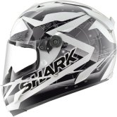 SHARK Race-R Pro Kundo White / Black / Silver