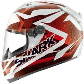 SHARK Race-R Pro Kundo White / Red / Black