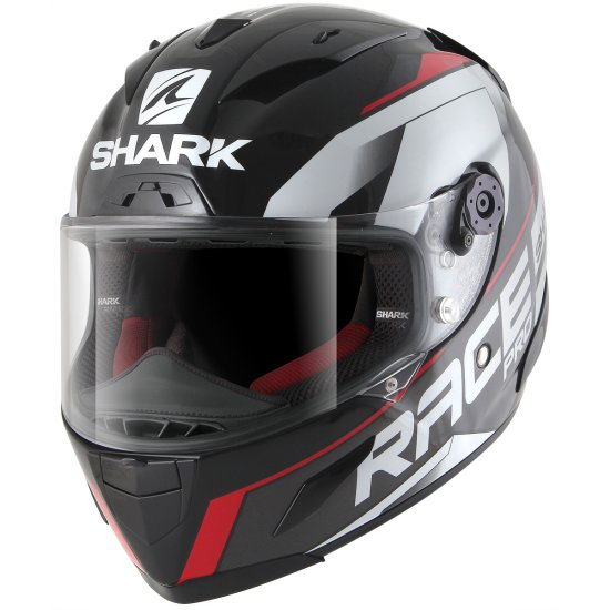 Casco SHARK Race-R Pro Sauer Black / Anthracite / Red