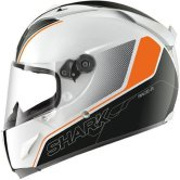 SHARK Race-R Pro Stinger White / Black / Orange